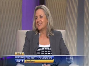 Elizabeth Shannon, The Today Show, Channel 9 January 6, 2012